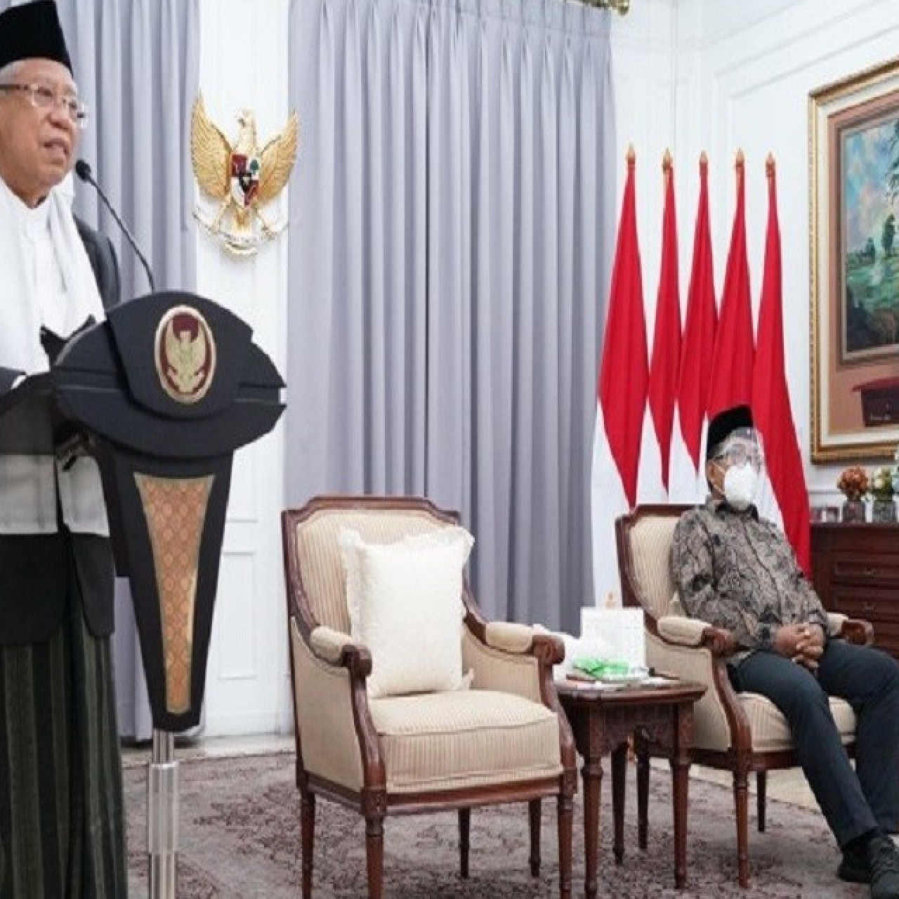 Vice President calls on NU to continue to empower people's economy