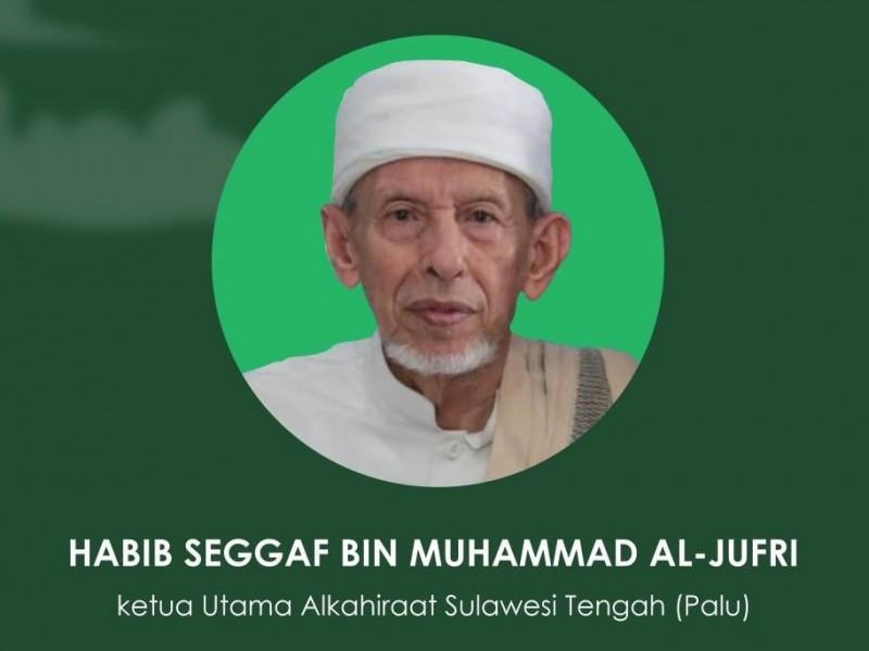 Ketua Utama Al Khairaat Habib Saggaf Wafat, Berikut Biografi Ringkasnya