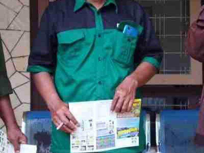 575 Liter Pupuk Organik CV NU Mandiri Jombang Masuk Dinas Pertanian