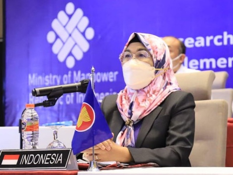 Kemnaker Ajak ASEAN-OSHNET Tekan Kecelakaan Kerja di Sektor Konstruksi