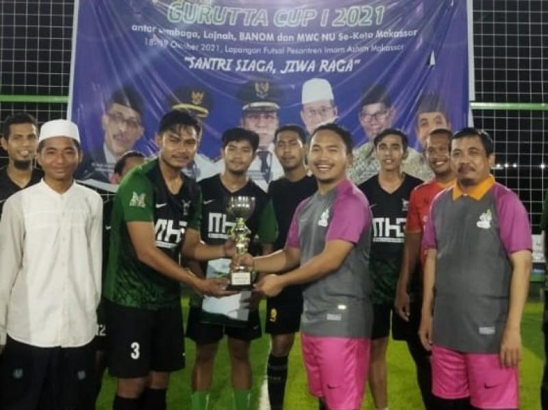 Lomba Futsal, NU Makassar Sediakan Piala Gurutta