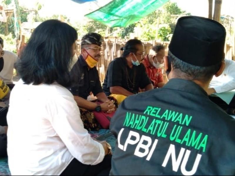 LPBINU Lombok Barat Terus Kampanyekan Pencegahan Covid-19