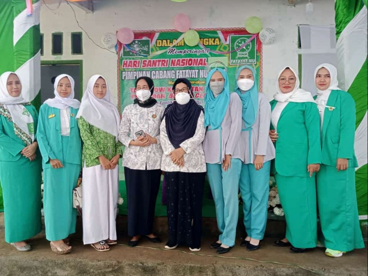 Semarakkan Hari Santri, Fatayat NU Tuba Gelar Talkshow Kesehatan dan Pelatihan Kecantikan