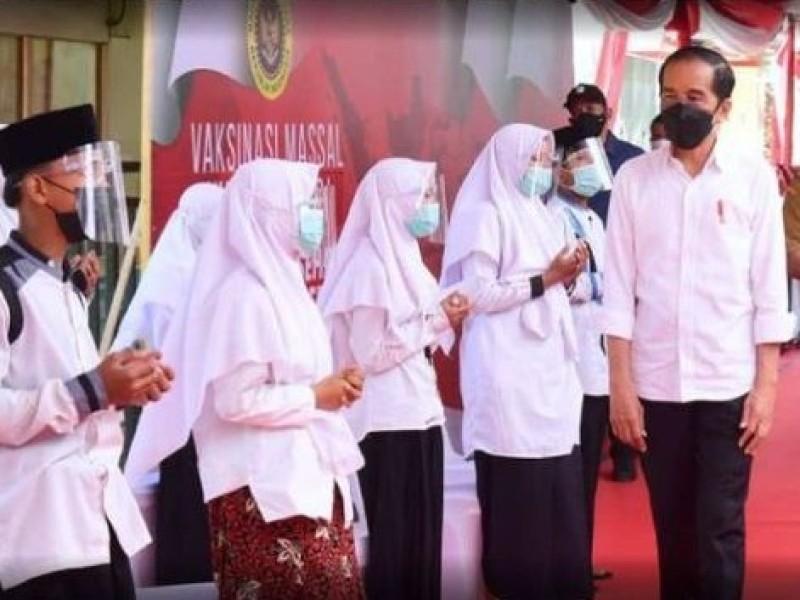 Harapan Presiden Jokowi kepada Santri