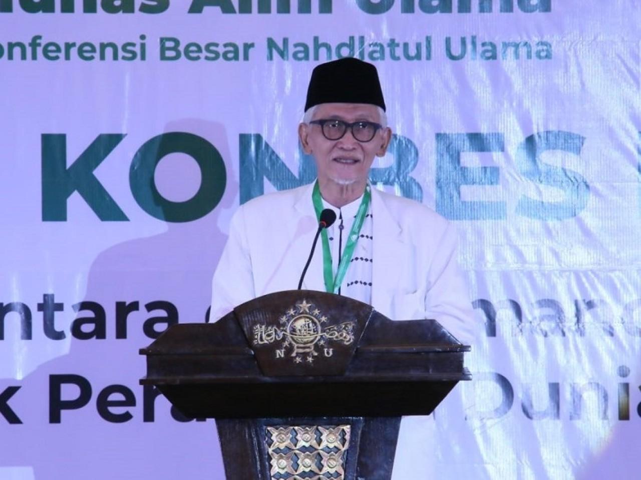 Rais 'Aam Minta Muktamar Ke-34 NU Digelar Akhir 2021