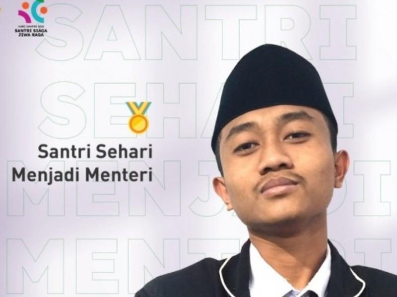 Santri Nurul Jadid Probolinggo Menangkan Sayembara 'Santri Sehari Menjadi Menteri'