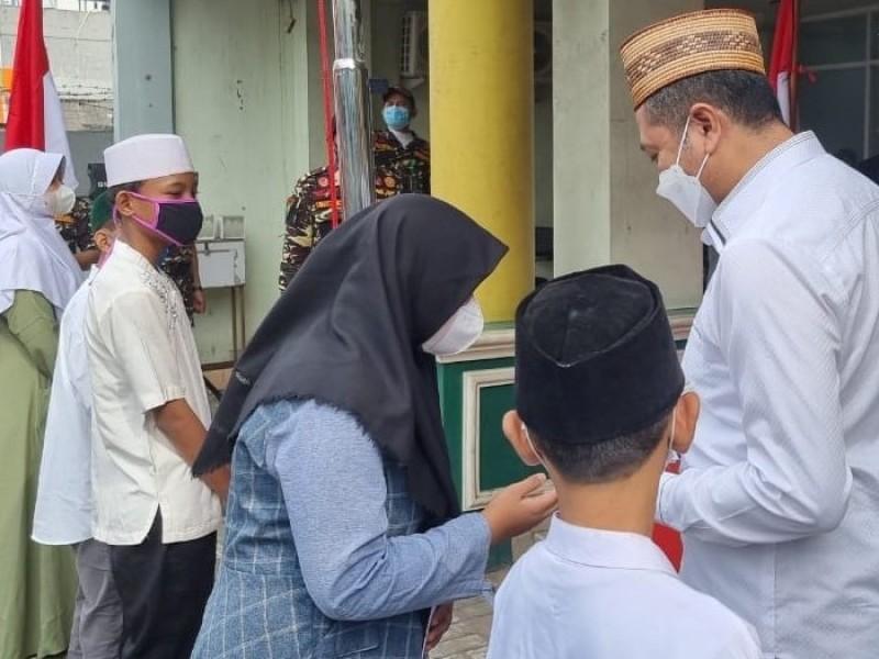 PWNU DKI Jakarta Salurkan Beasiswa 200 Santri Yatim Piatu Terdampak Covid-19