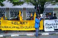 PMII Sulawesi Tolak Pangkalan Militer AS