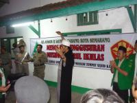 Pasukan Banser Tolak Penggusuran Musholla untuk Apartemen