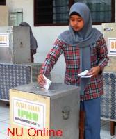 Pemilihan Ketua IPNU Sarana Pembelajaran Demokrasi