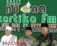 PCNU Kudus Launching Radio Buana Kartika FM