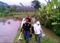 CBP dan KPP Wonosobo Bersih-Bersih Sungai