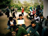 PMII UPI Gelar Aksi Solidaritas untuk Mahasiswa Kesulitan Biaya