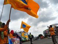 PMII Bandar Lampung Gelar Aksi Tolak Politik Uang