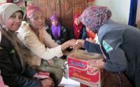 Peduli Bencana Longsor, IPNU-IPPNU Jombang Serahkan Bantuan