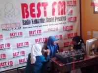 Enam Tahun Radio Komunitas Best FM Tebar Damai