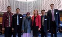 Guru Pesantren MUDI Mesra Ikut Studi Banding Hukum ke Jerman