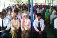 Kamar Sastra Nun Sukun Meriahkan Perpisahan di Madrasah NU