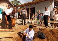 Roboh Karena Gempa, Masjid Penjaga Aswaja Kranggan Mulai Dibangun