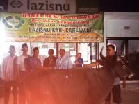 LAZISNU Karawang Distribusikan Daging Qurban Warga