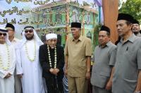 Mbah Maimun Resmikan Masjid di Madrasah NU Kudus