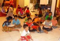 Muslimat NU Dampingi Anak-Anak Malaysia Liburan Mendidik
