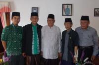 Sowan Ke Tokoh NU, PWNU Lampung Minta Wejangan