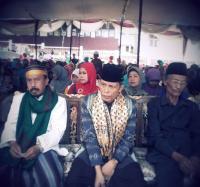 Ketua PWNU Lampung Ajak Masyarakat Bakauheni Bersholawat
