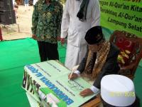 PWNU Lampung Resmikan Pesantren Tahfidz Lampung Selatan