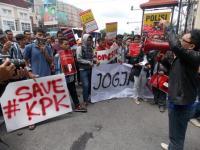 Peduli Pemberantasan Korupsi, Gusdurian Lakukan Aksi