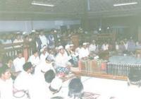 Peserta Bahtsul Masail Harap Berkah Masyayikh Pesantren Al-Munawwir