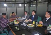 Jajaki Kerja Sama, LTMNU Terima Kunjungan dari Jepang