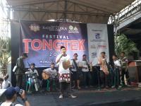 Belasan Grup Ramaikan Festival Tongtek IPNU-IPPNU Kudus