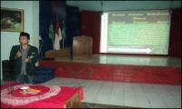 Di Depan Camat, Pelajar NU Pangkah Presentasikan Profil Organisasi