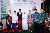Kunjungi Stand Wahid Institute, Jokowi-Mega Kenang Persahabatan dengan Gus Dur