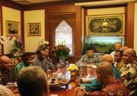 Sampaikan Permasalahan Papua, Forum Lintas Iman Papua Sambangi PBNU