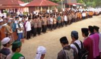 Ratusan Santri Nurul Yaqin Lepas Keberangkatan Calhaj