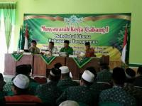 Wakil Bupati Buka Muskercab Pertama PCNU Tanggamus