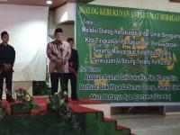 Kang Said Hadiri Pelantikan PCNU Kota Bitung