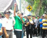 GP Ansor Dampingi Unjuk Rasa PKL Makam Gus Dur