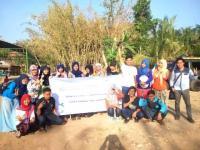 Puluhan Mahasiswa IPMAFA Bersih-bersih Sungai Tayu