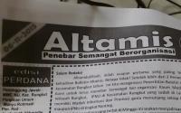 Pelajar NU Rungkut Sebarkan Buletin Perdananya