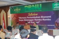 Gandeng KPK, LPNU Bincangkan Hubungan Perekonomian dengan Korupsi