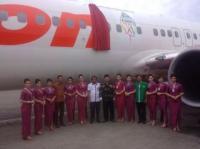 Ansor Dapuk Lion Air Sebagai Pesawat Resmi