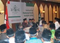 PBNU Sosialisasikan Hasil Muktamar kepada Pengurus Wilayah