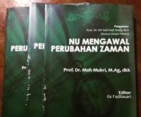 """LTNNU Lampung Terbitkan """"NU Mengawal Perubahan Zaman"""""""