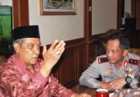 Polda Metro Jaya Minta Dukungan NU Amankan Jakarta