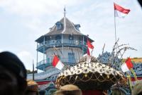Ini Makna Gunungan Jaler-Estri di Grebek Mulud Surakarta