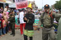 Banser Kawal Karnaval Gebyar Sultan Agung