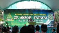 GP Ansor Blitar Didik Banser Materi Pengaturan Lalu Lintas